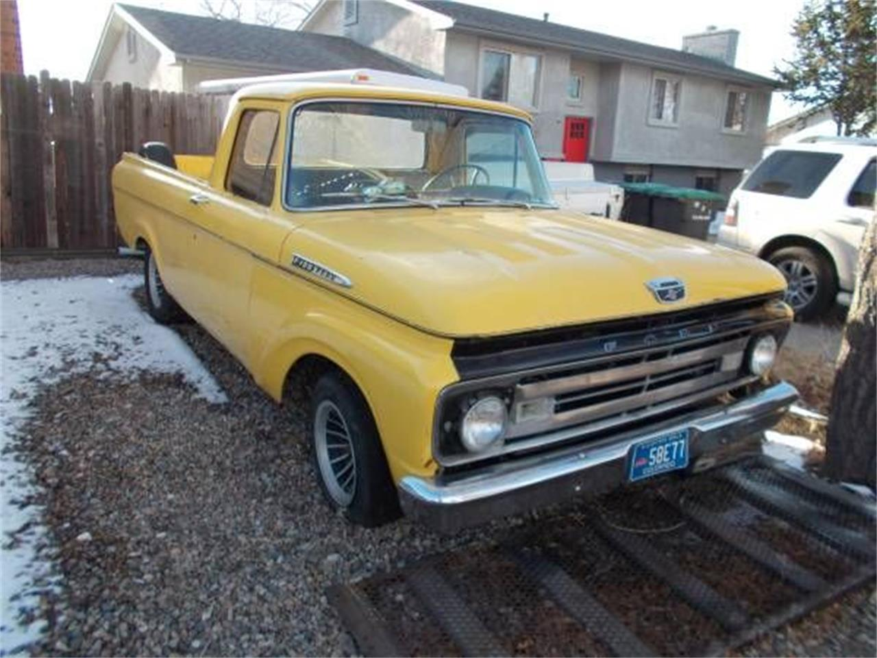 1962 Ford F100 (CC-1124487) for sale in Cadillac, Michigan