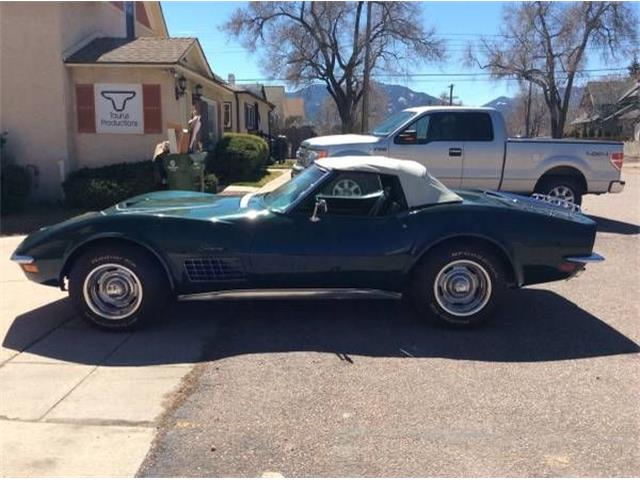 1971 Chevrolet Corvette (CC-1124543) for sale in Cadillac, Michigan