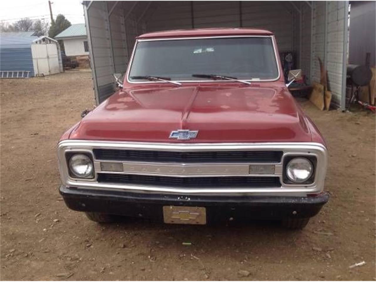 1972 Chevrolet C10 (CC-1124544) for sale in Cadillac, Michigan
