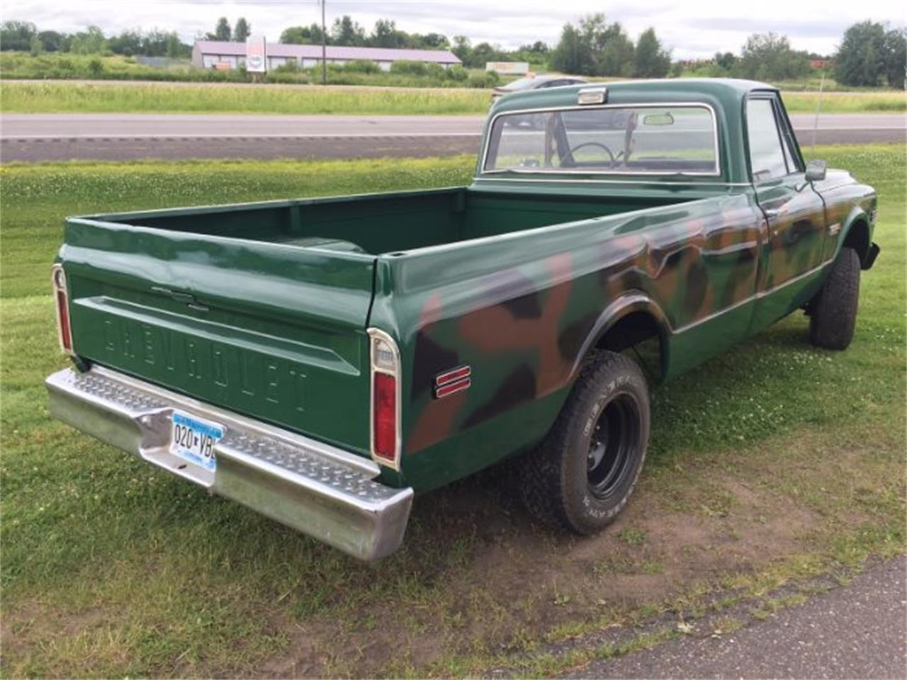 1972 Chevrolet K-10 (CC-1120485) for sale in Cadillac, Michigan