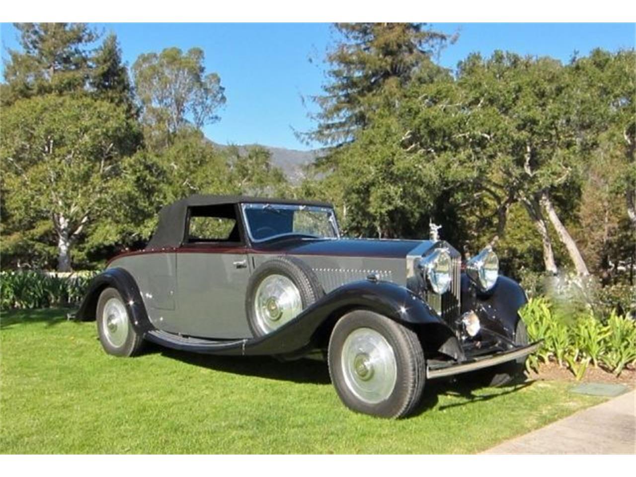 1933 Rolls-Royce 20/25 (CC-1124890) for sale in Cadillac, Michigan