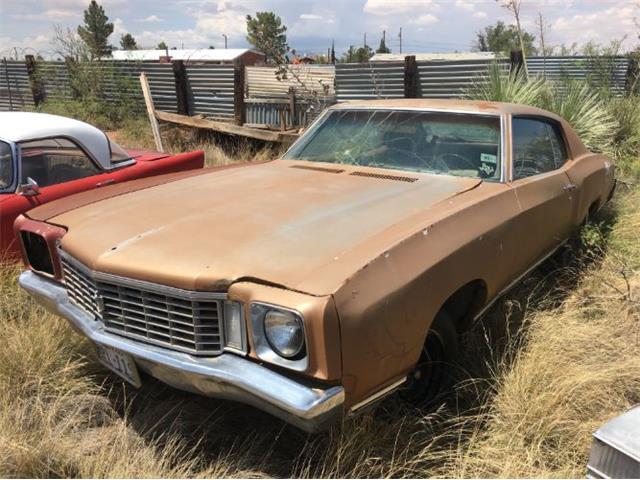 1972 Chevrolet Monte Carlo (CC-1125058) for sale in Cadillac, Michigan