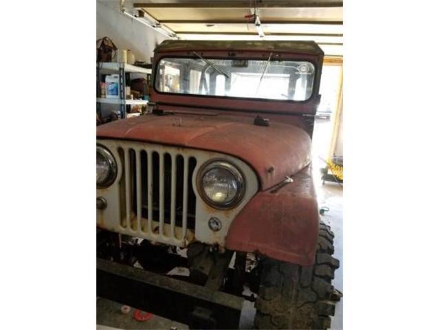 1963 Jeep CJ5 (CC-1125083) for sale in Cadillac, Michigan