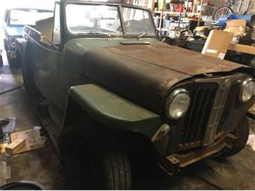 1948 Willys Jeepster (CC-1125102) for sale in Cadillac, Michigan