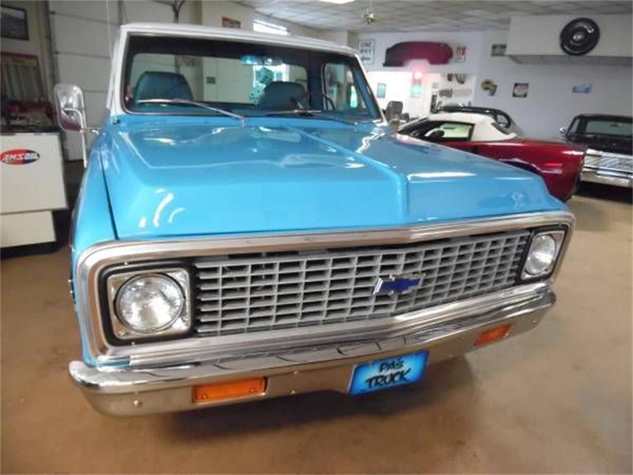 1972 Chevrolet C10 (CC-1125285) for sale in Cadillac, Michigan