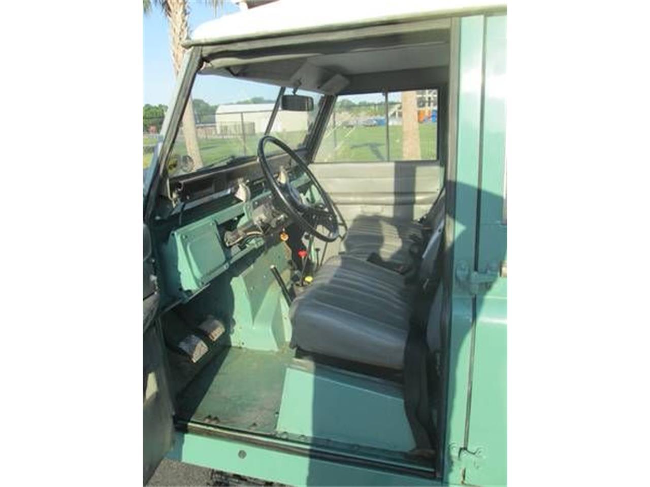 1968 Land Rover Series IIA (CC-1125424) for sale in Cadillac, Michigan