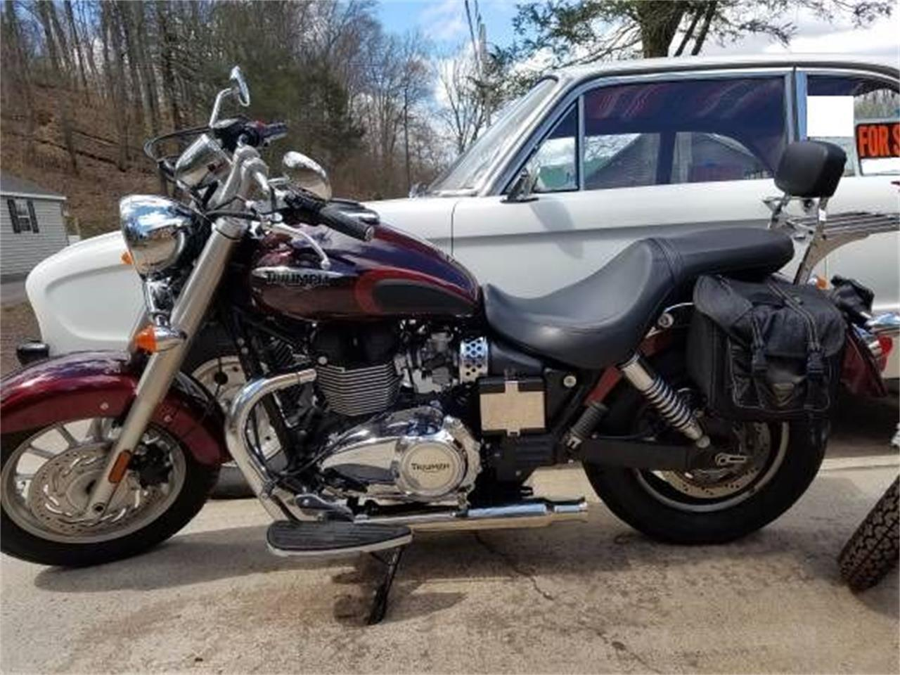 2014 Triumph Motorcycle (CC-1125757) for sale in Cadillac, Michigan