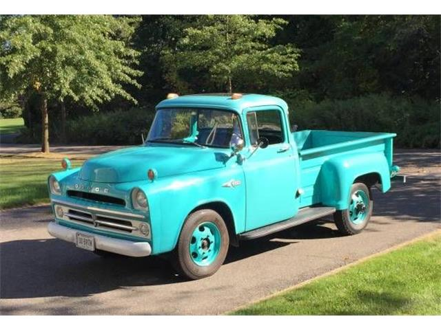 1957 Dodge D200 (CC-1125996) for sale in Cadillac, Michigan