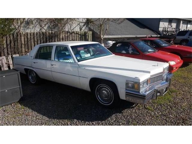 1978 Cadillac DeVille (CC-1126017) for sale in Cadillac, Michigan