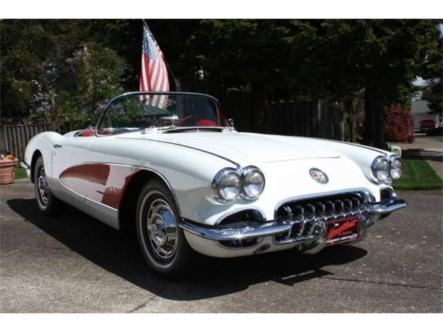 1960 Chevrolet Corvette (CC-1126173) for sale in Cadillac, Michigan