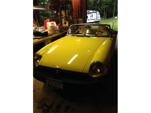 1980 MG MGB (CC-1120636) for sale in Cadillac, Michigan