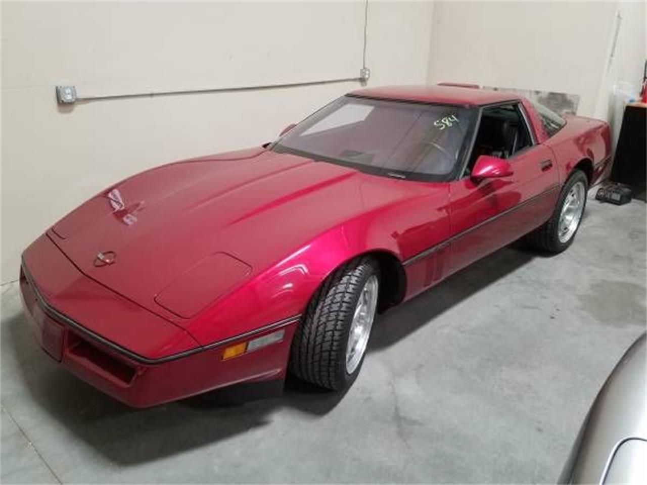 1990 Chevrolet Corvette (CC-1126372) for sale in Cadillac, Michigan