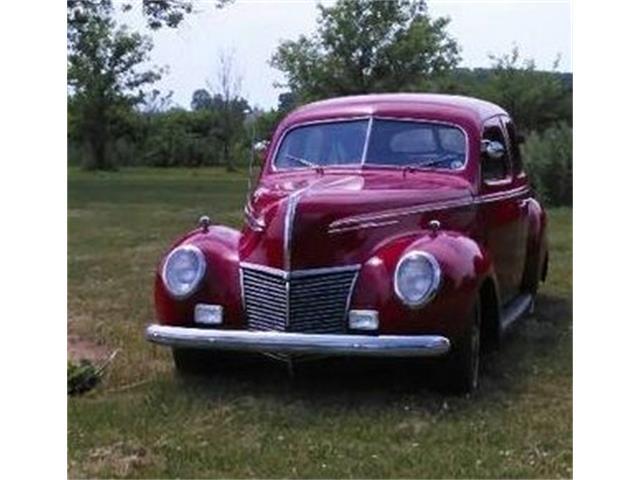 1939 Mercury Sedan