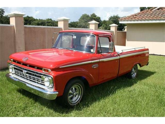 1966 Ford F100 (CC-1120678) for sale in Cadillac, Michigan