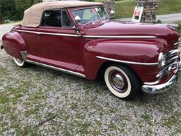 1948 Plymouth Convertible (CC-1120687) for sale in Cadillac, Michigan