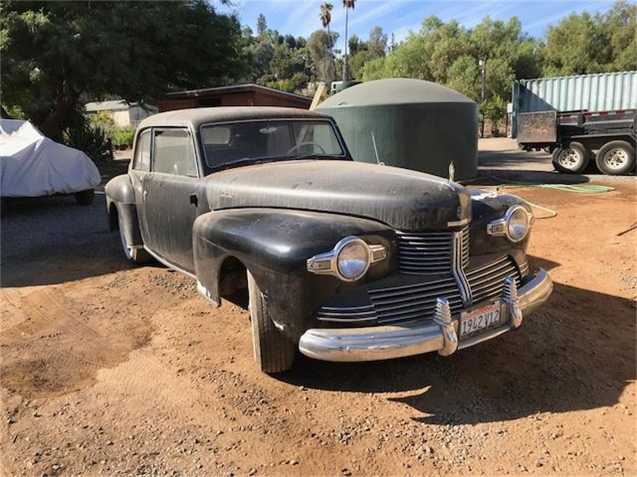 1942 Lincoln Continental (CC-1127095) for sale in Cadillac, Michigan