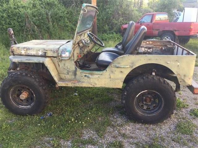 1942 Jeep Military (CC-1127188) for sale in Cadillac, Michigan