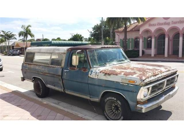 1972 Ford F250 (CC-1127352) for sale in Cadillac, Michigan