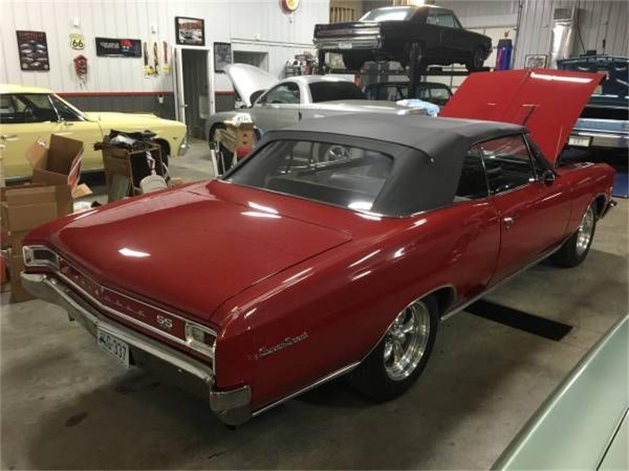 1966 Chevrolet Chevelle (CC-1127522) for sale in Cadillac, Michigan