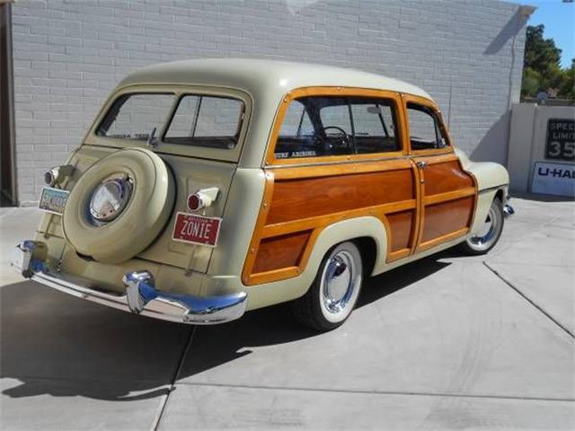 1951 Mercury Woody Wagon