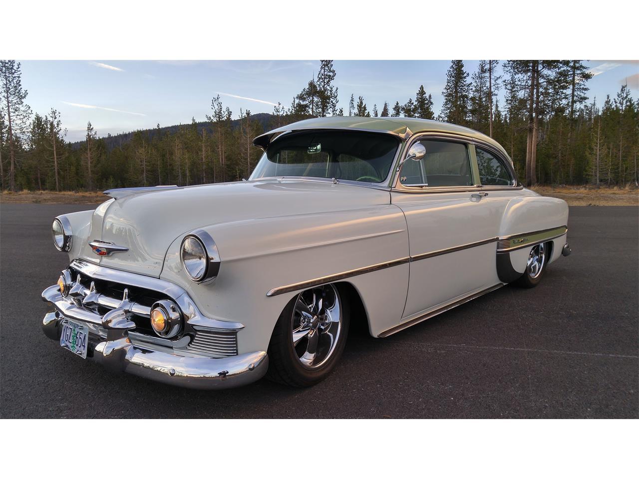 1953 Chevy 53 Chevrolet BEL AIR CLEAR  2P BU light NEW