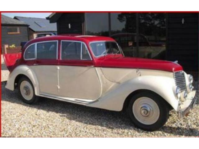 1951 Armstrong-Siddeley Lancaster Saloon (CC-1132360) for sale in Cadillac, Michigan