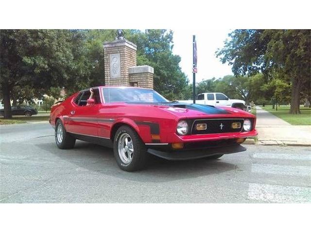 1971 Ford Mustang (CC-1132861) for sale in Cadillac, Michigan