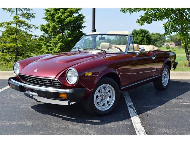1980 Fiat Spider (CC-1134211) for sale in Barrington, Illinois
