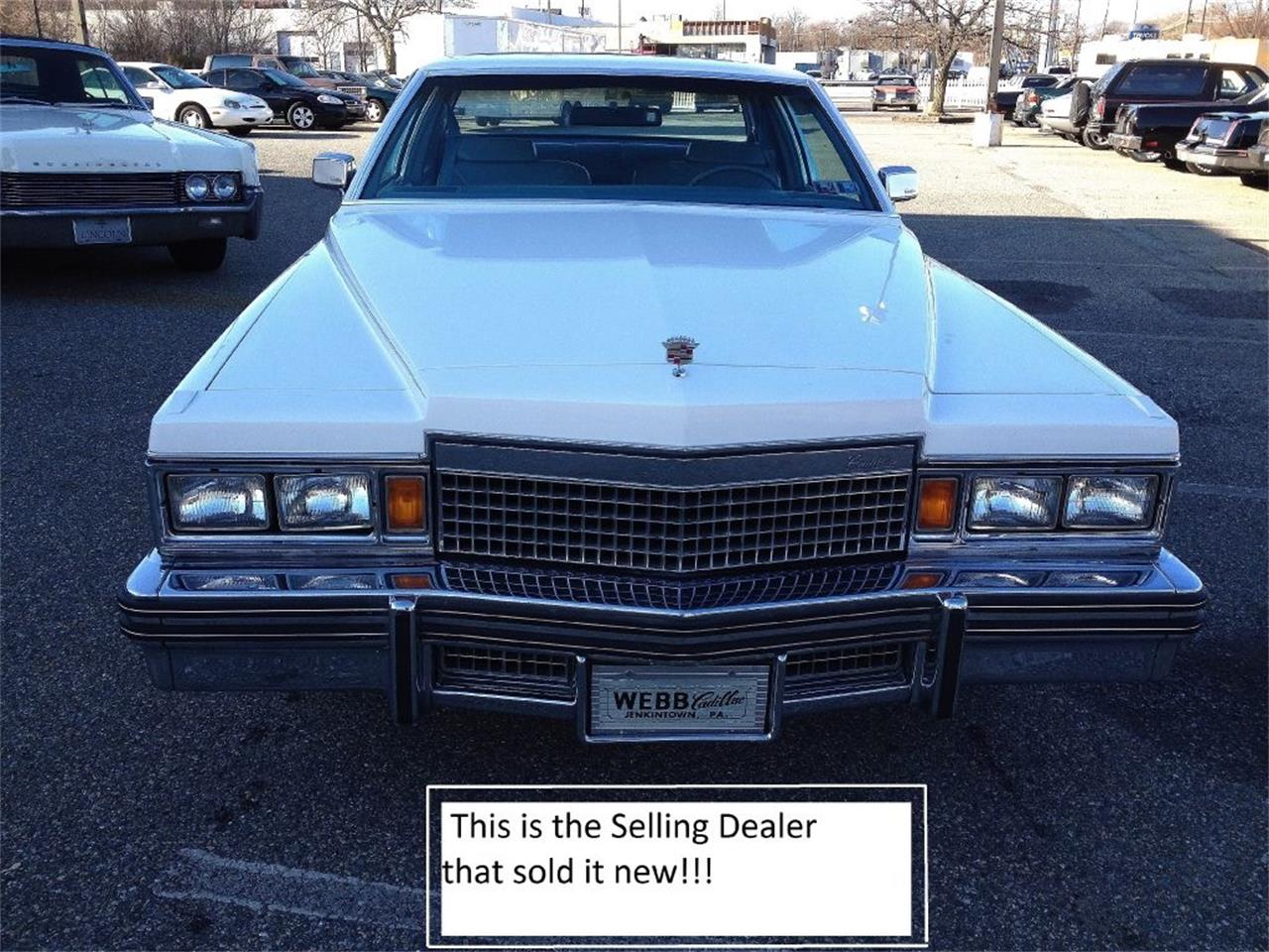 1979 Cadillac DeVille (CC-1135790) for sale in Stratford, New Jersey