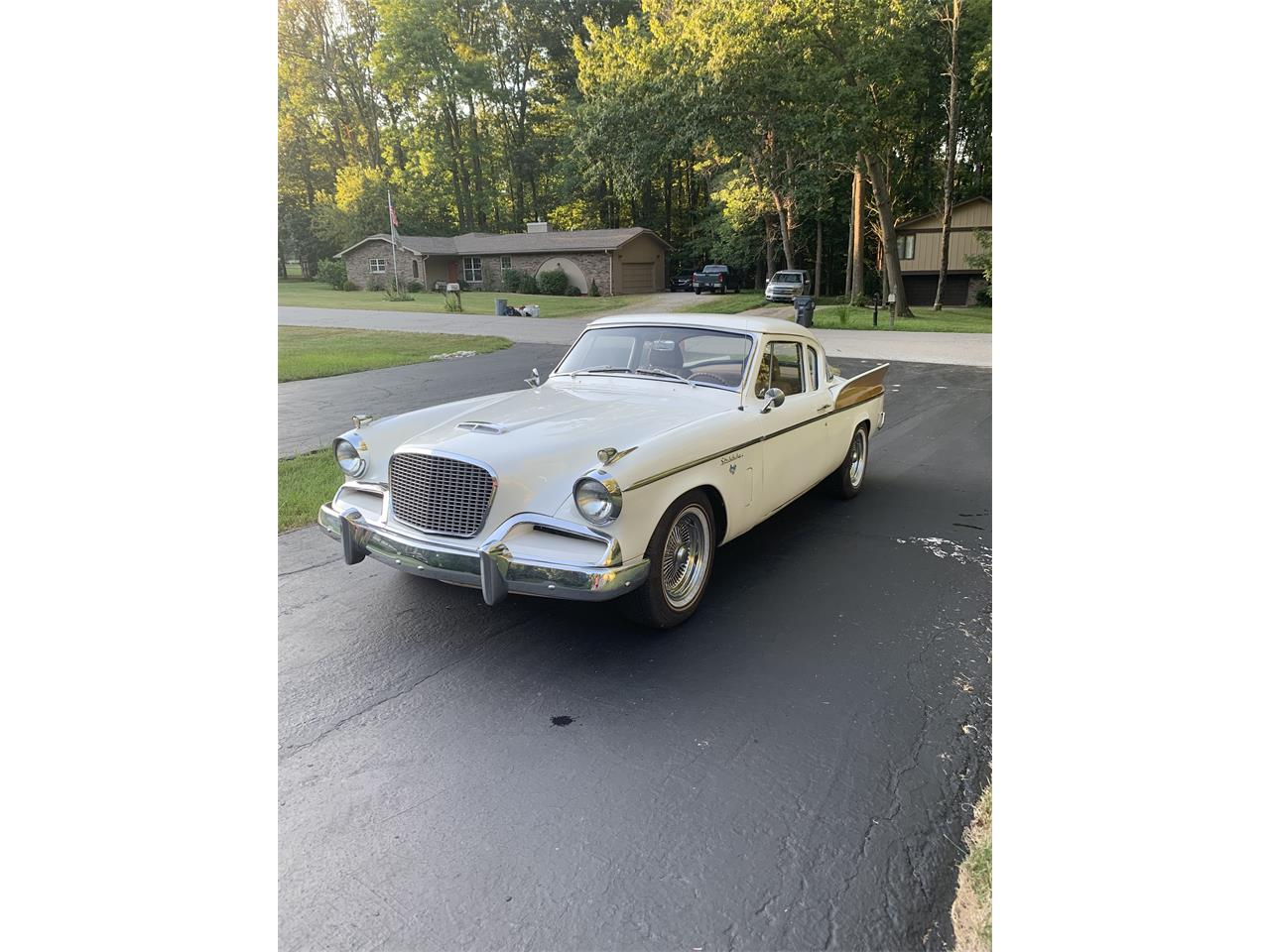1957 Studebaker Silver Hawk (CC-1136021) for sale in Martinsville, Indiana