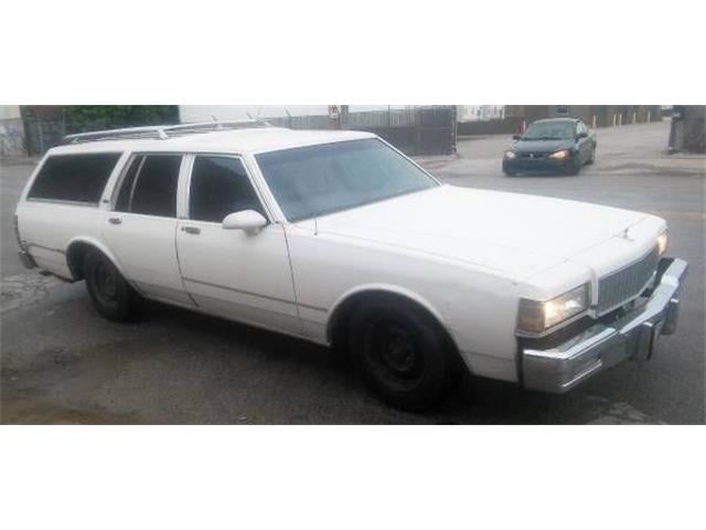 1987 Chevrolet Caprice (CC-1137262) for sale in Cadillac, Michigan