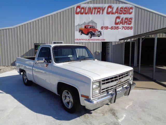 1987 Chevrolet C/K 10 (CC-1137381) for sale in Staunton, Illinois