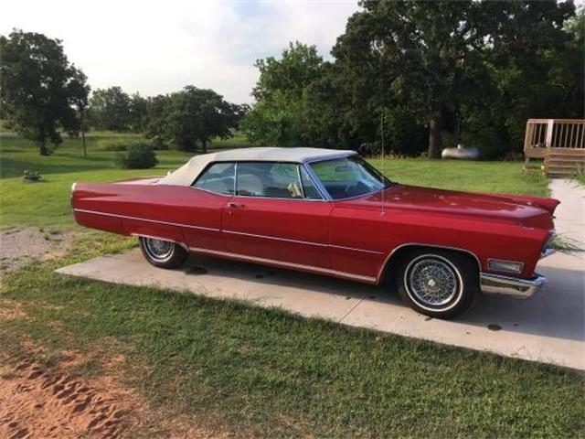 1968 Cadillac Fleetwood (CC-1137957) for sale in Cadillac, Michigan