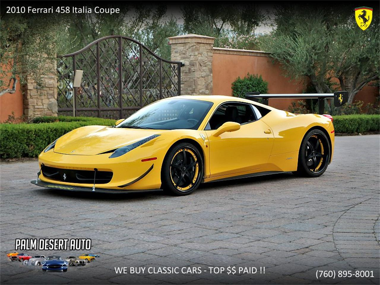 2010 Ferrari 458 Italia For Sale Classiccars Com Cc 1138693