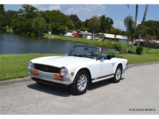 1974 Triumph TR6 (CC-1138986) for sale in Clearwater, Florida