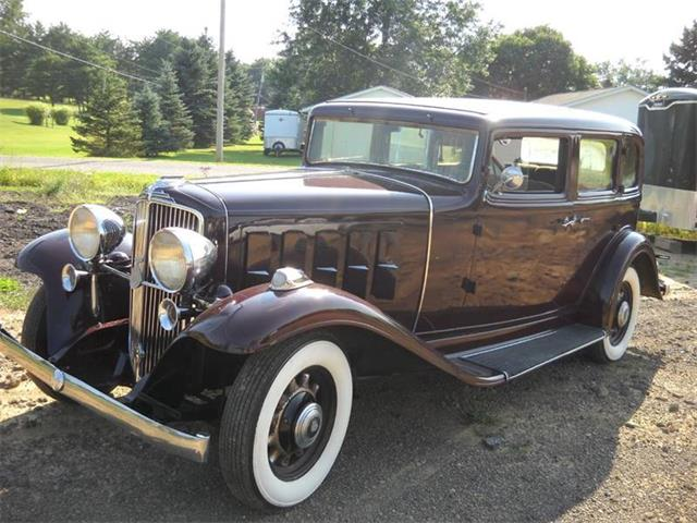 1933 Nash Ambassador (CC-1139040) for sale in Ashland, Ohio