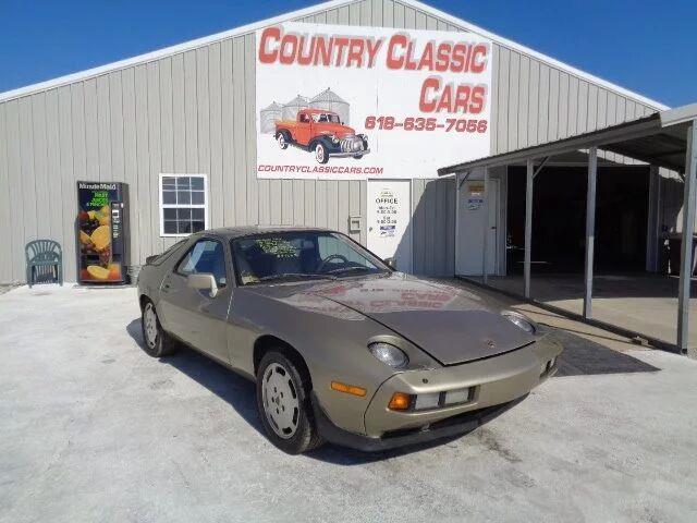 1986 Porsche 928 (CC-1140143) for sale in Staunton, Illinois
