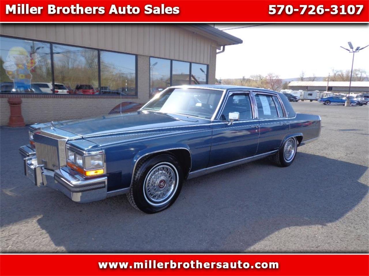 1989 cadillac brougham for sale classiccars com cc 1143911 1989 cadillac brougham for sale