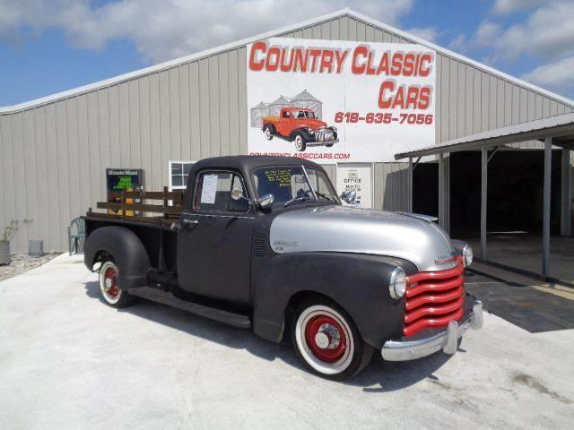 1952 Chevrolet Pickup (CC-1144075) for sale in Staunton, Illinois