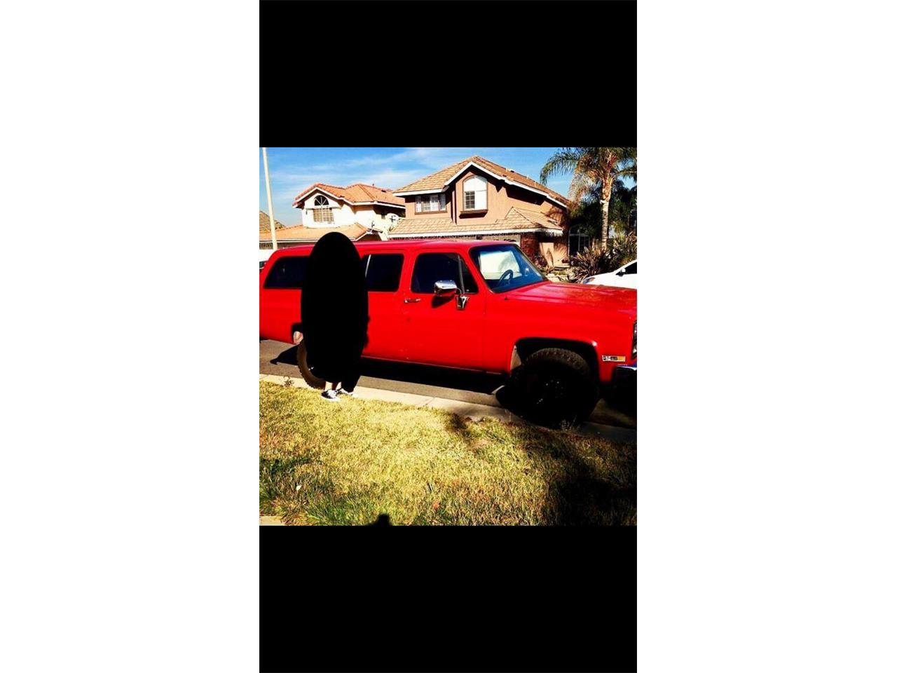 1989 Chevrolet Suburban (CC-1145924) for sale in Orange, California
