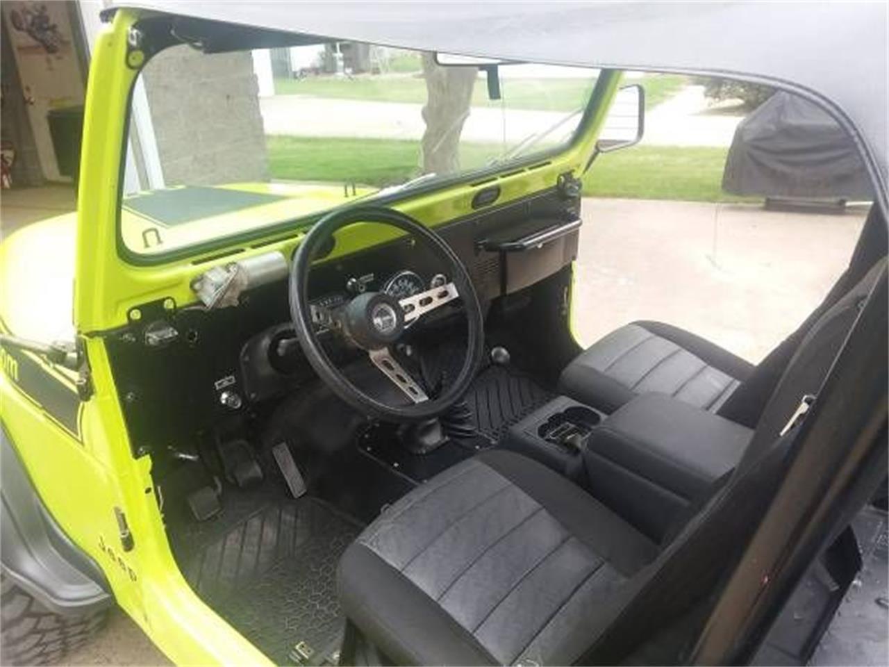 1980 Jeep CJ7 (CC-1146187) for sale in Cadillac, Michigan