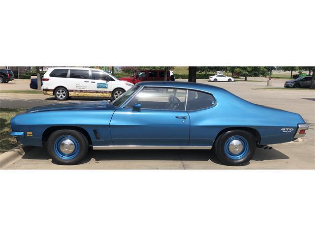 1972 Pontiac GTO (CC-1147448) for sale in Richardson, Texas