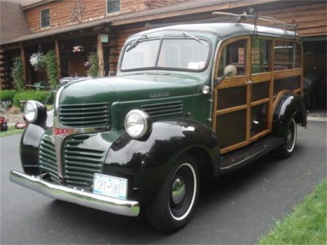 1947 Dodge Wagon (CC-1148171) for sale in Cadillac, Michigan