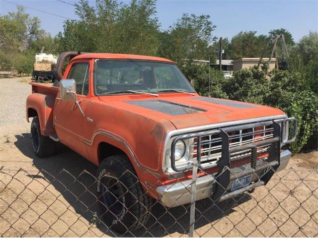 1976 Dodge D100 (CC-1148513) for sale in Cadillac, Michigan