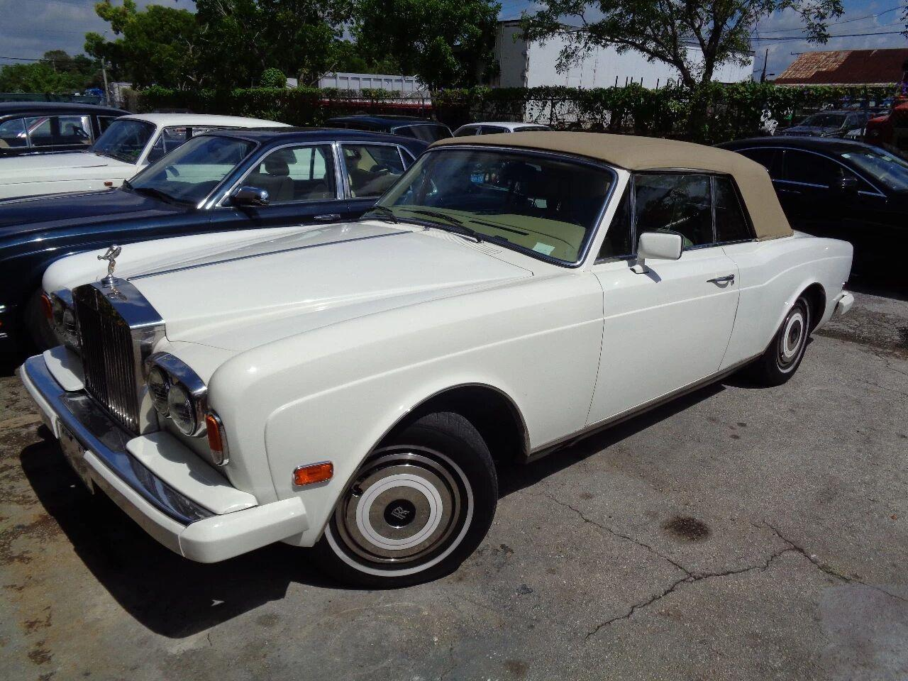 1985 Rolls-Royce Corniche (CC-1149234) for sale in Fort Lauderdale, Florida