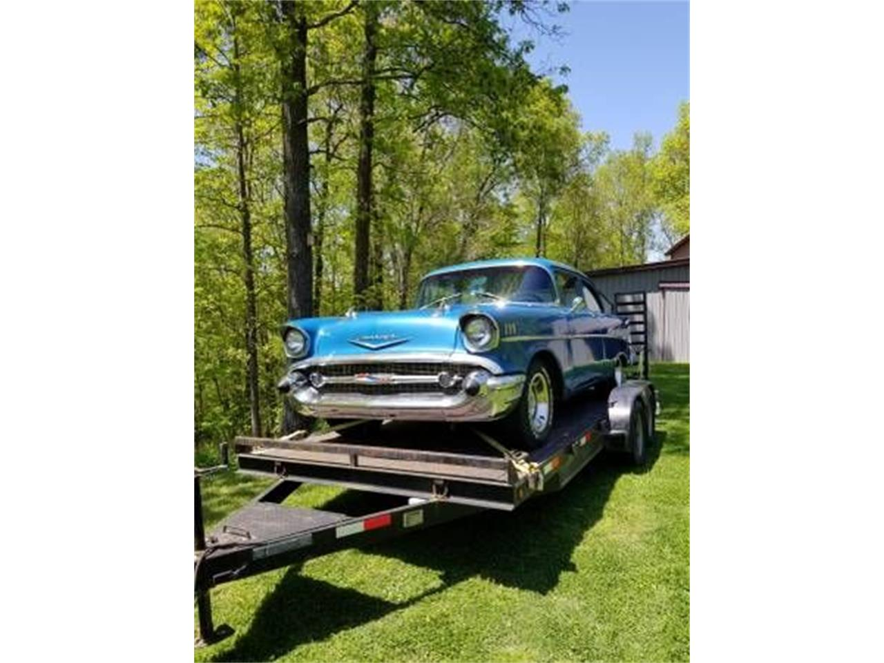 1957 Chevrolet Bel Air (CC-1151216) for sale in Cadillac, Michigan