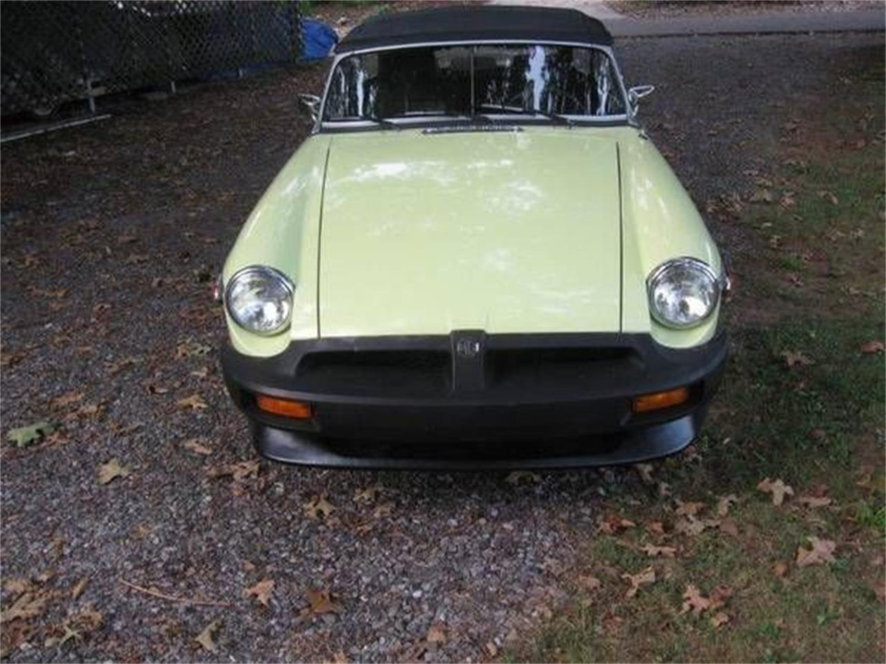 1977 MG MGB (CC-1151322) for sale in Cadillac, Michigan