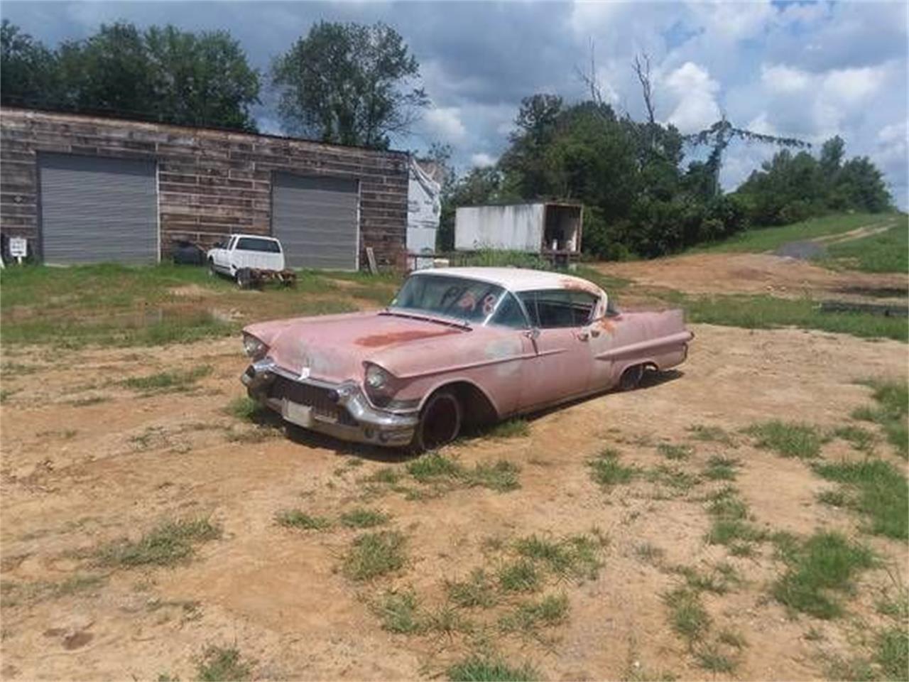 1957 Cadillac Coupe DeVille (CC-1151383) for sale in Cadillac, Michigan