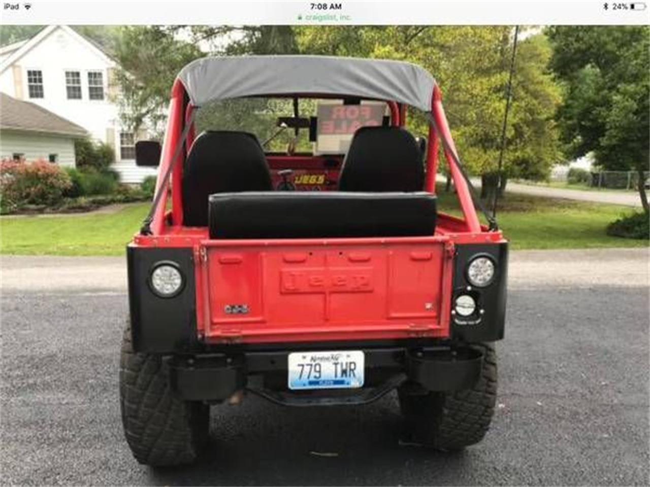 1978 Jeep CJ5 (CC-1151884) for sale in Cadillac, Michigan