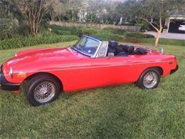 1976 MG MGB (CC-1152769) for sale in Cadillac, Michigan